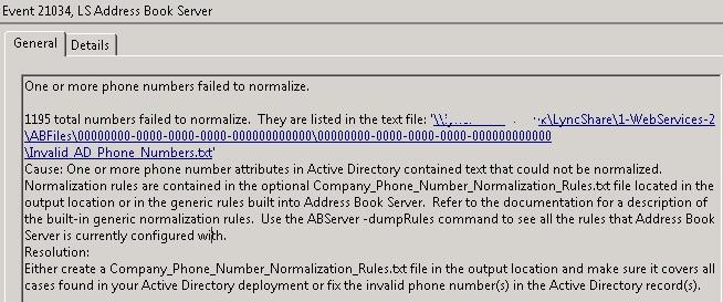 Lync 2010 Client Address Book