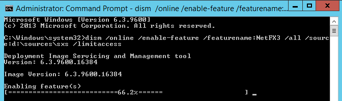 Dism install